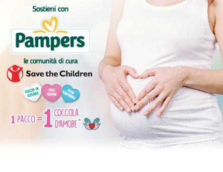 Pampers e Save the Children per il progetto comunità di cura