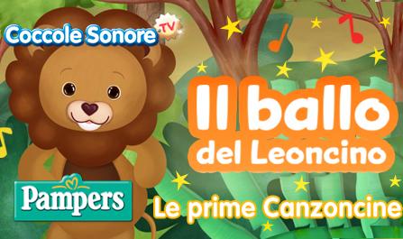 La canzone per bambini da ballare del leoncino Leo