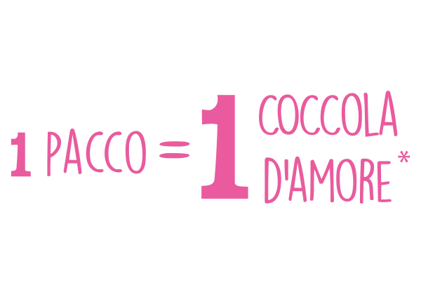 1 Pacco =  1 coccola d'amore