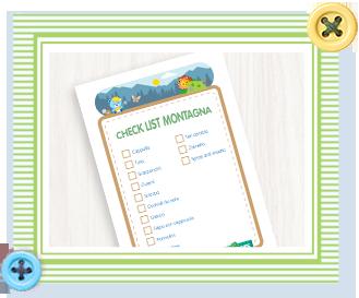 Checklist Montagna